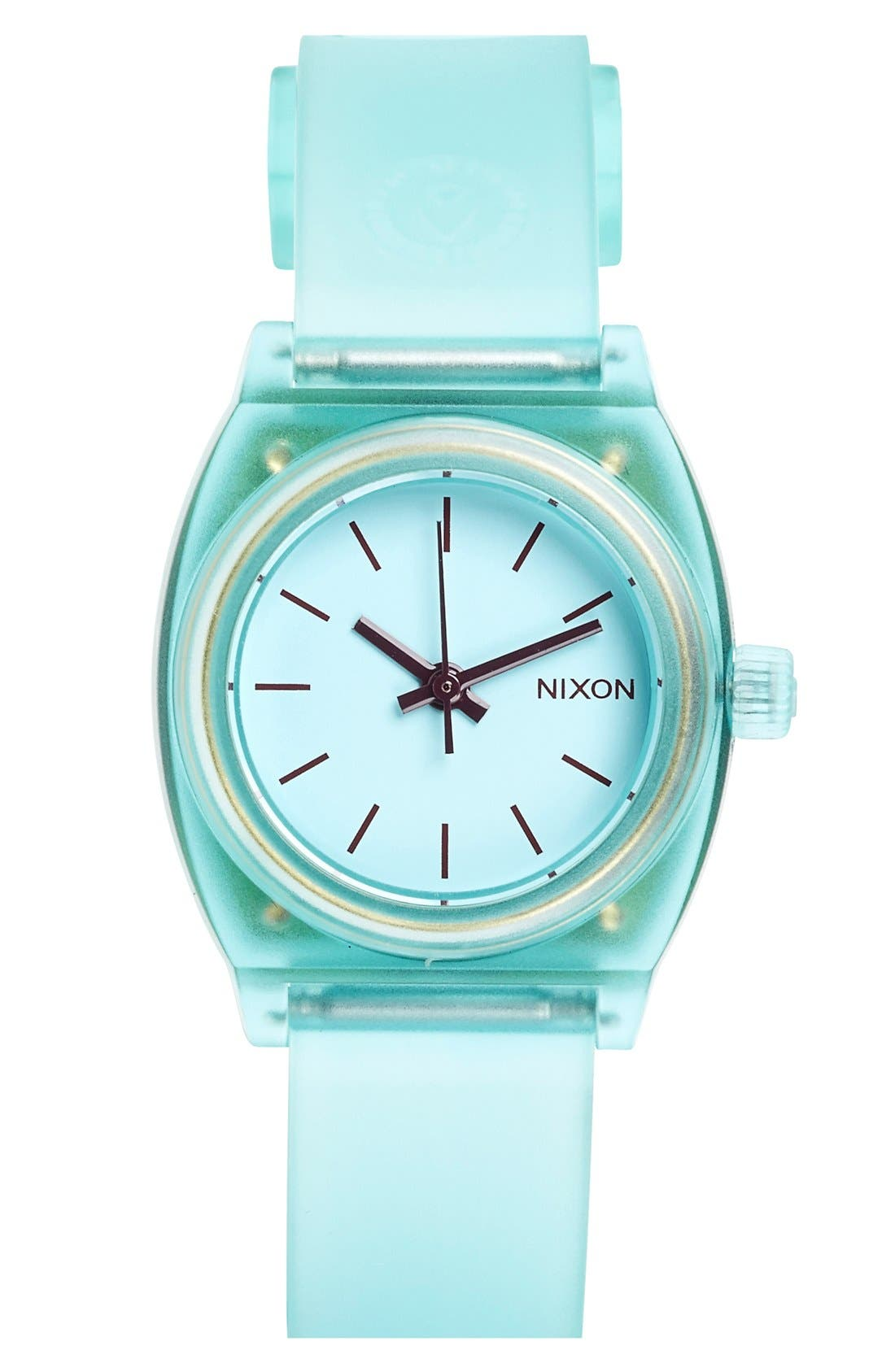 Alternate Image 1 Selected - Nixon 'The Small Time Teller' Round Watch, 26mm