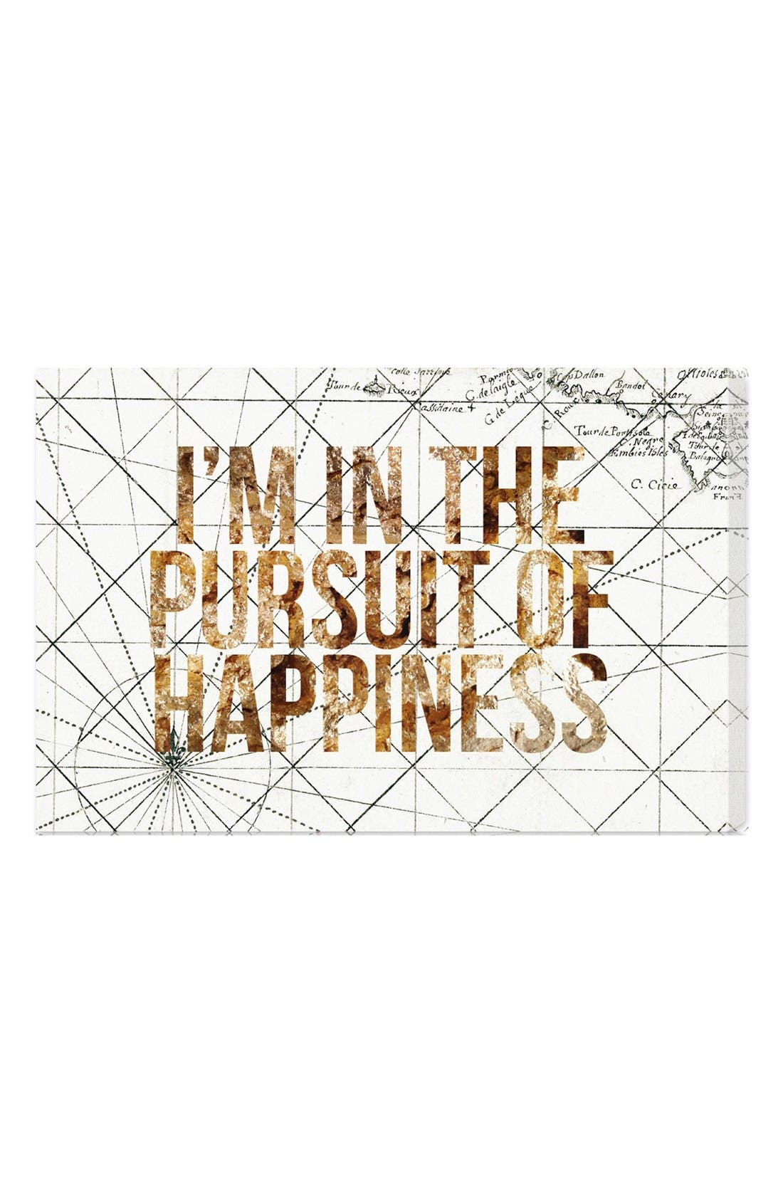 Oliver Gal 'Pursuit of Happiness' Wall Art