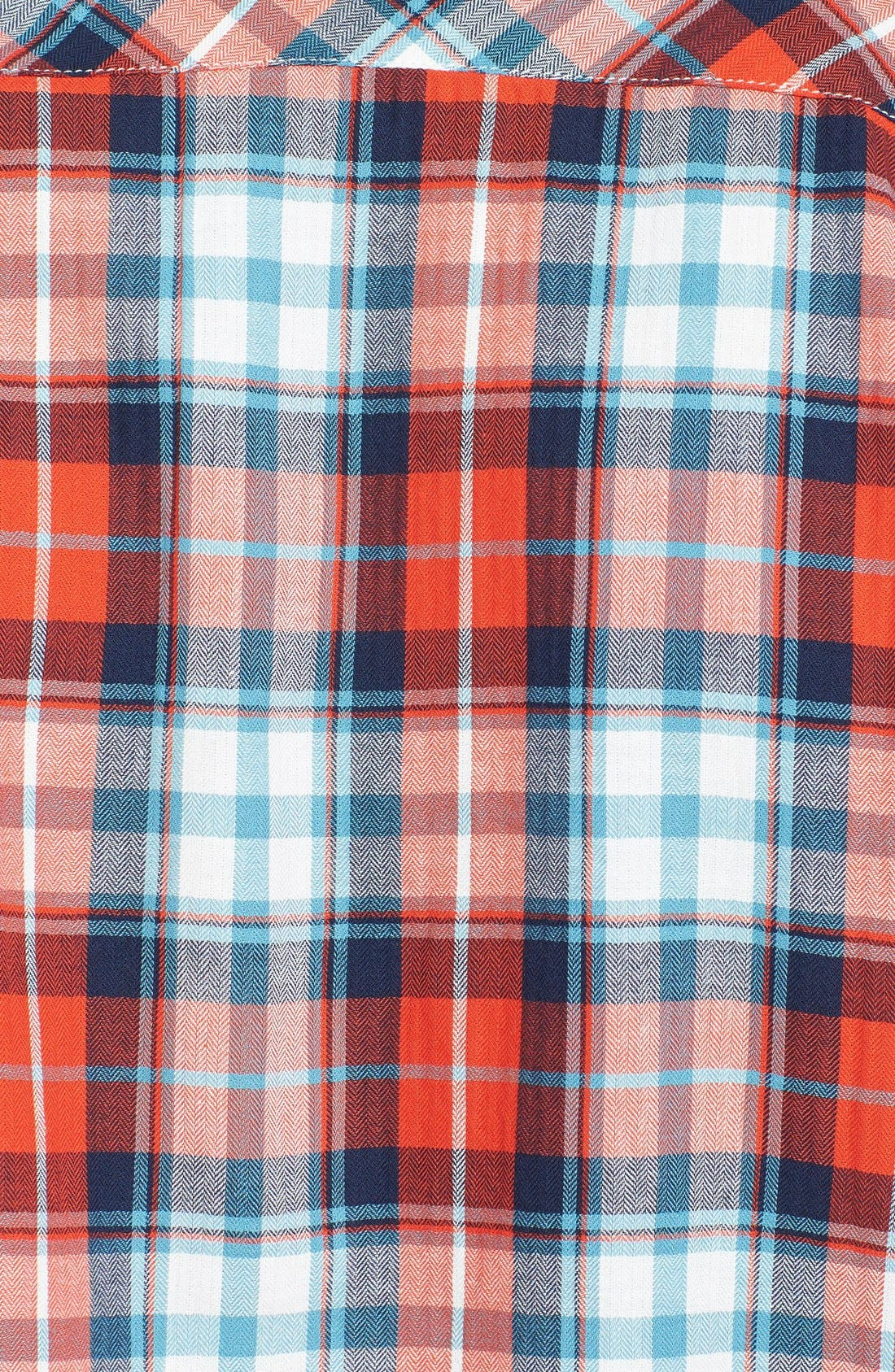 Alternate Image 3  - The North Face 'Marzo' Slim Fit Short Sleeve Plaid Sport Shirt
