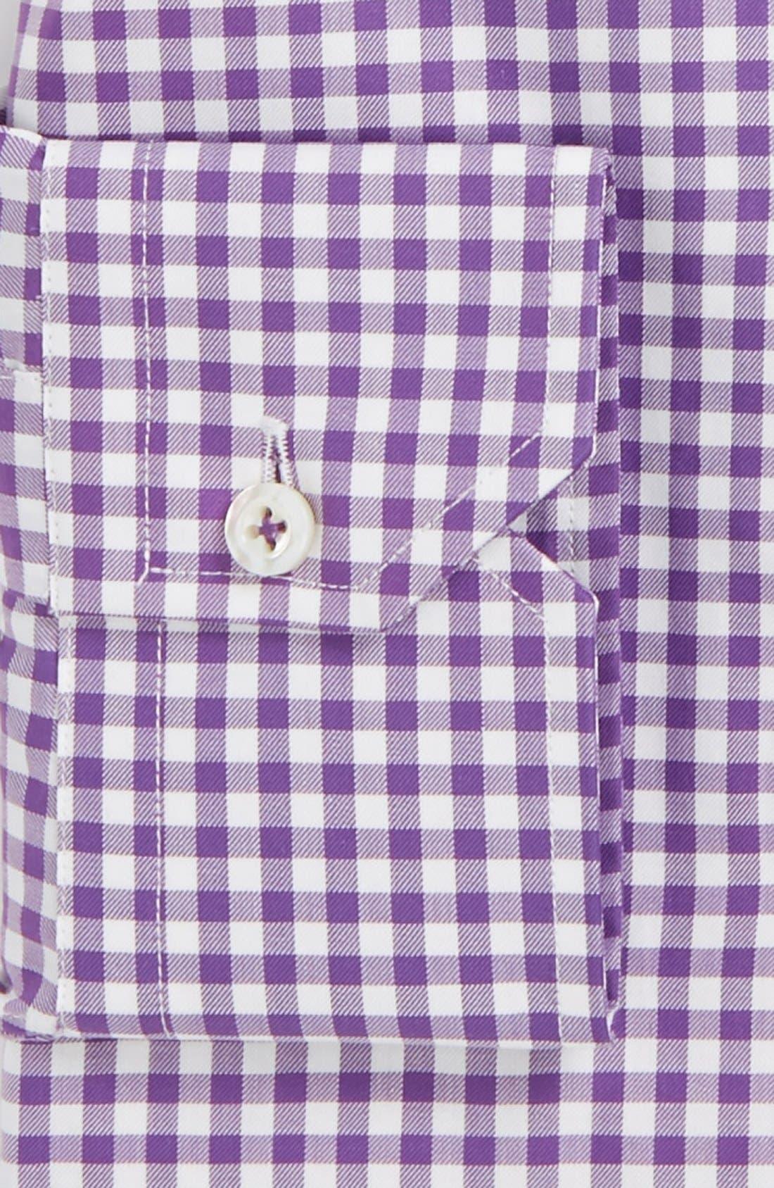 Alternate Image 2  - Robert Talbott Twill Check Classic Fit Dress shirt
