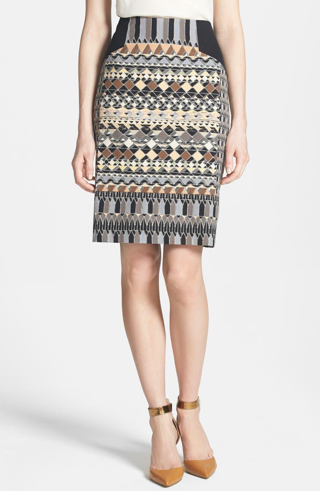 Alternate Image 1 Selected - NIC+ZOE 'Radiant Wink' Pencil Skirt