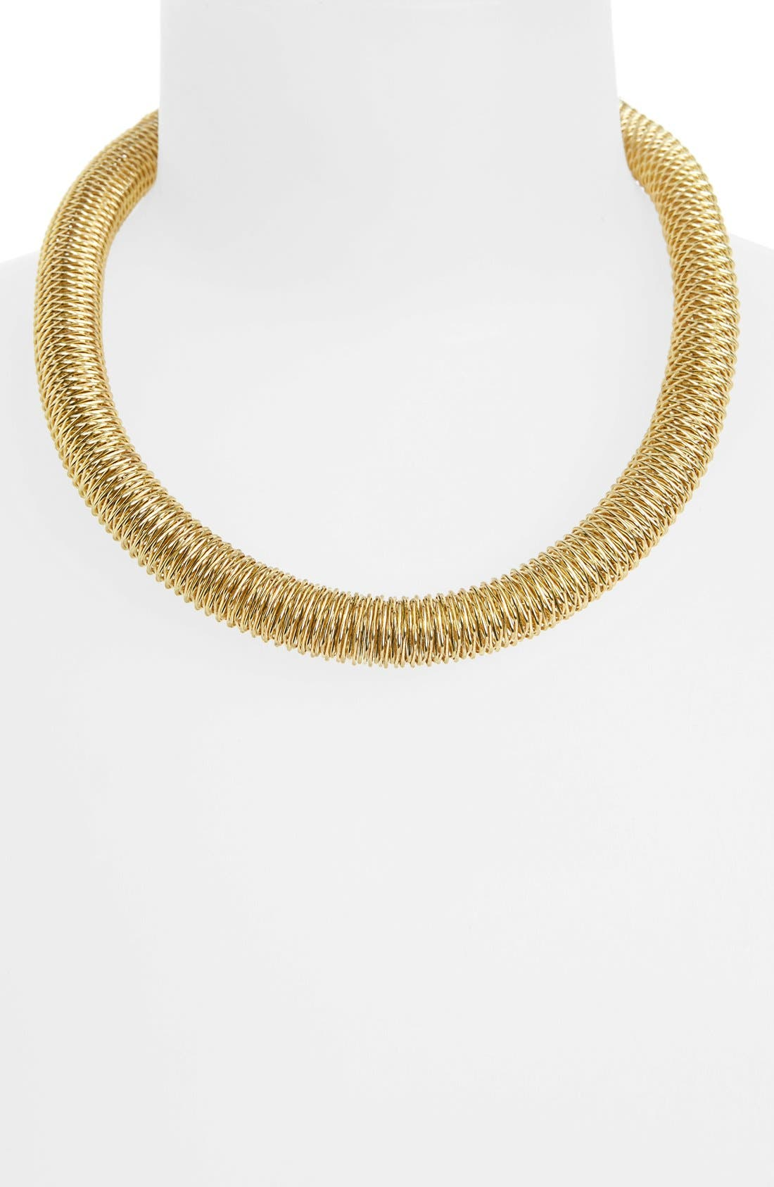 Alternate Image 1 Selected - Topshop 'Spring Stretch' Collar Necklace