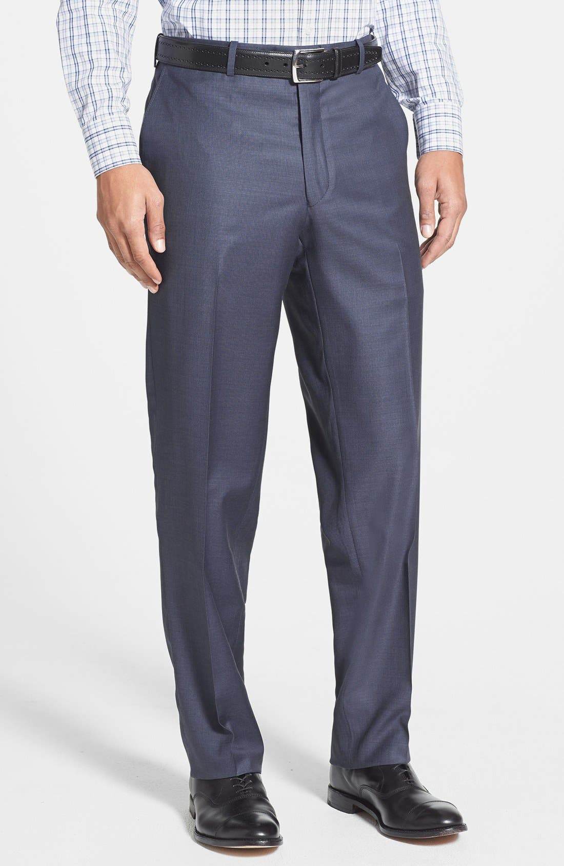 Alternate Image 3  - Peter Millar Classic Fit Wool Suit