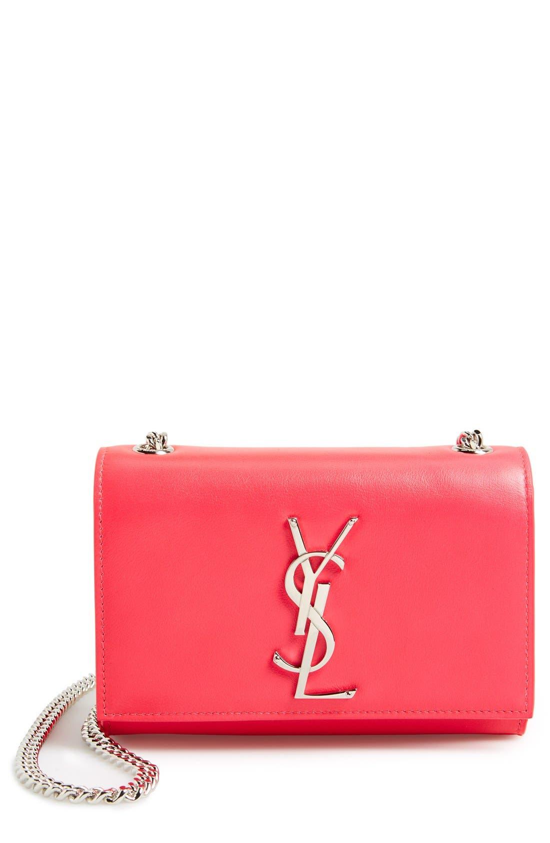 Alternate Image 1 Selected - Saint Laurent 'Cassandre - Mini' Crossbody Bag