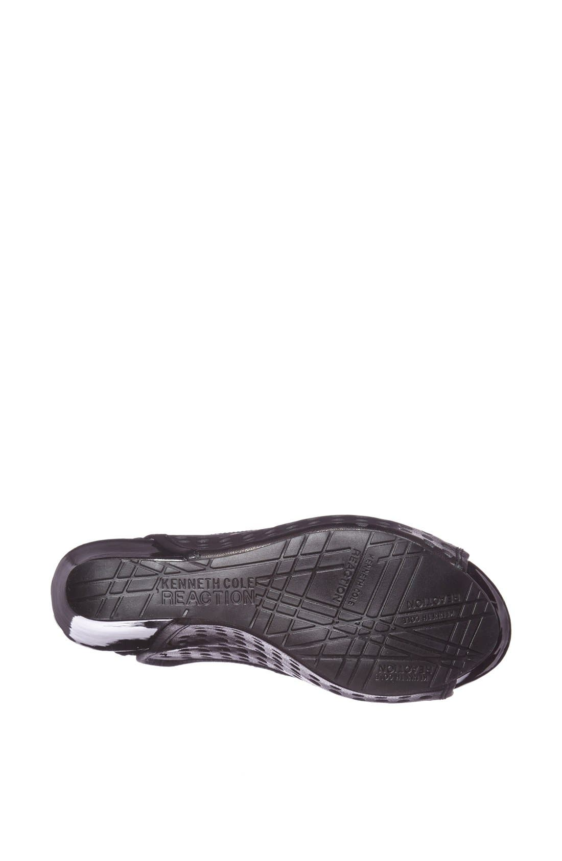 Alternate Image 4  - Kenneth Cole Reaction 'Soley Roller 3' Perforated Slingback Sandal
