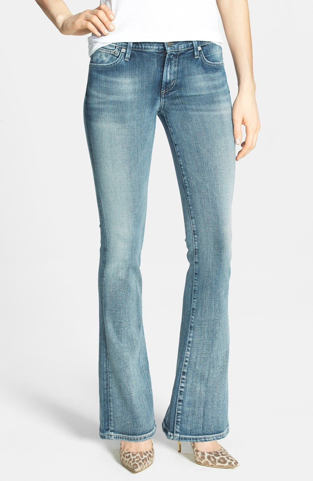 Alternate Image 1 Selected - Citizens of Humanity 'Emannuelle' Slim Bootcut Jeans (Gaze) (Petite)