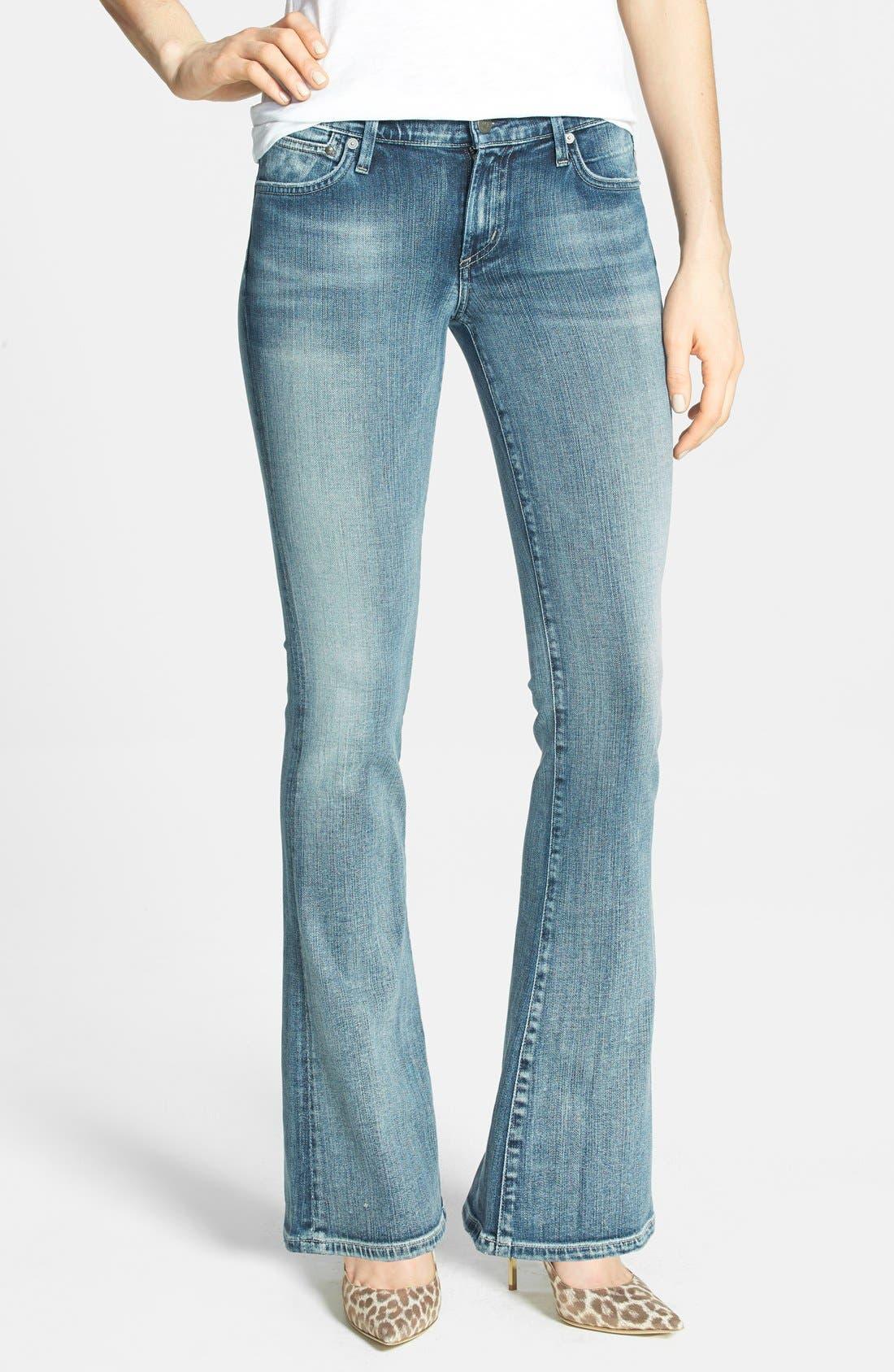 Main Image - Citizens of Humanity 'Emannuelle' Slim Bootcut Jeans (Gaze) (Petite)