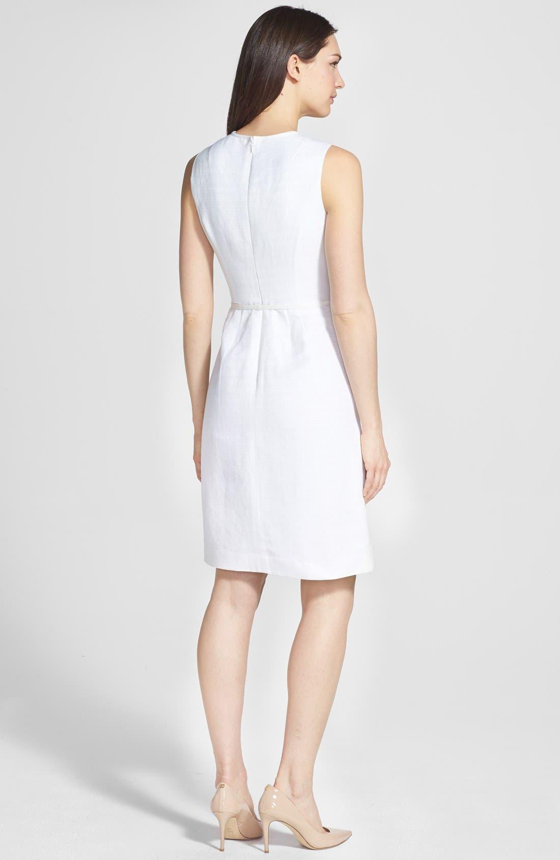 Alternate Image 2  - Tory Burch 'Kimberly' Ottoman Sheath Dress