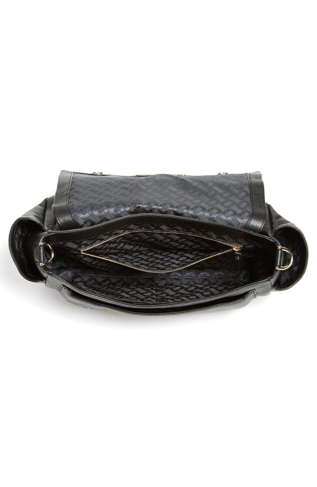 Alternate Image 3  - Diane von Furstenberg '440 Courier' Leather Top Handle Satchel