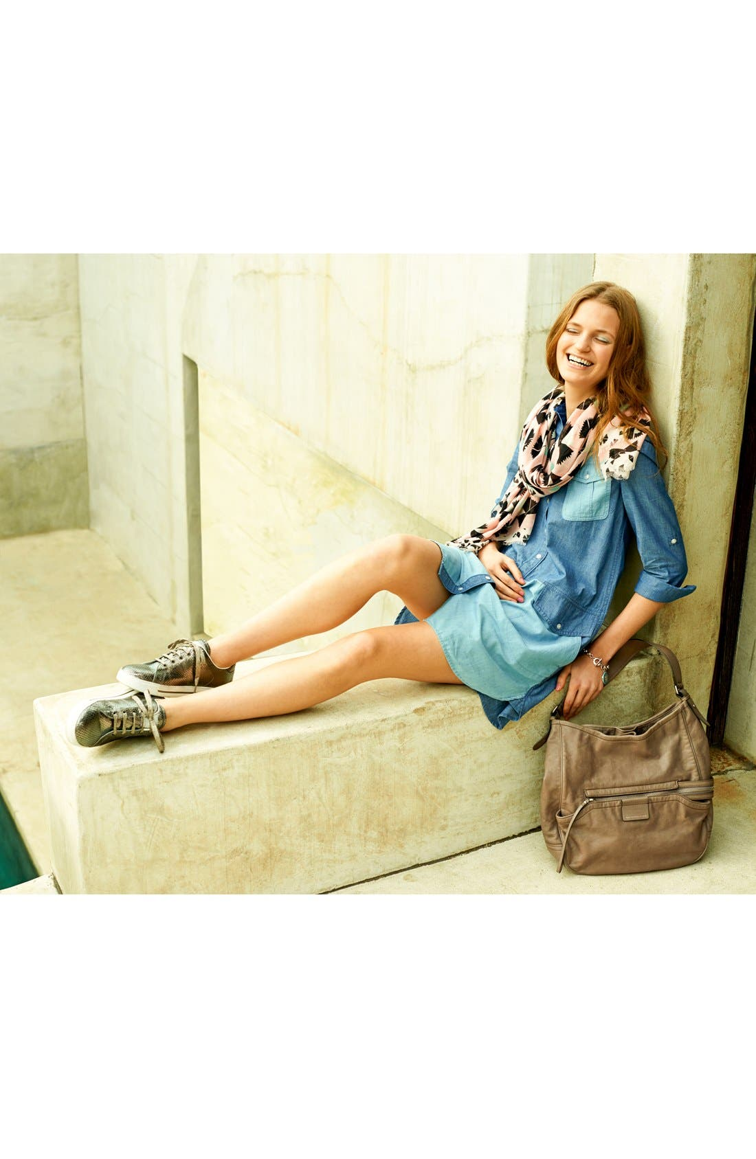 Alternate Image 4  - MARC BY MARC JACOBS 'Catalina' Chambray Shirtdress