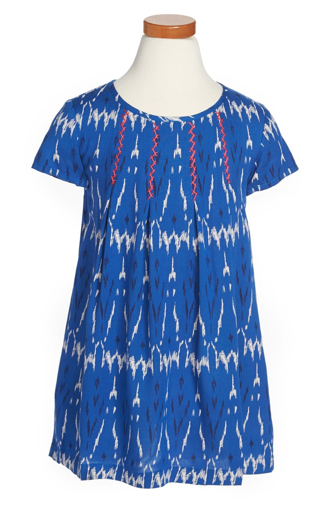 Alternate Image 1 Selected - Tucker + Tate 'Patricia' Pleated Print Dress (Toddler Girls)