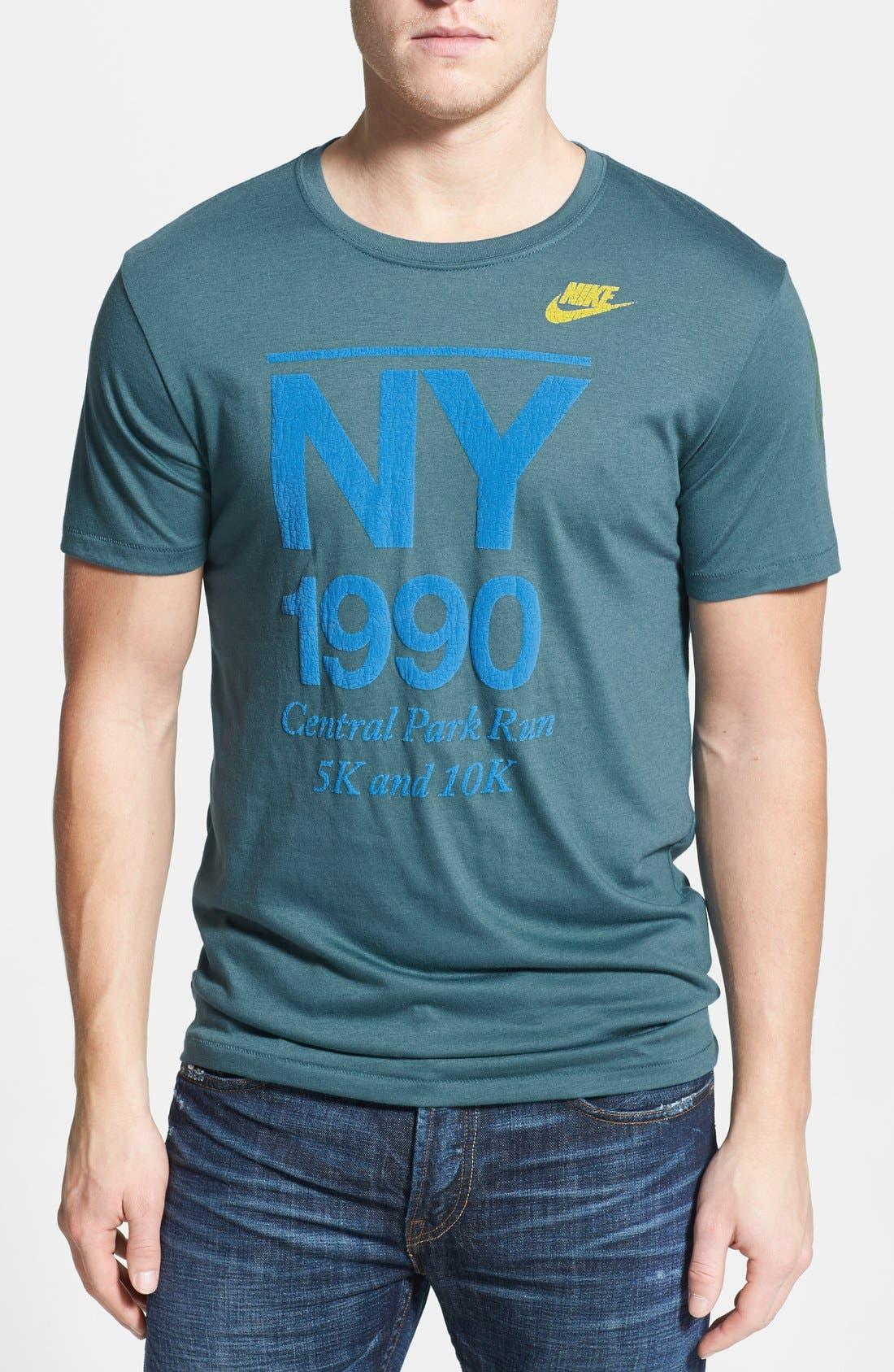 Main Image - Nike 'New York - Glory Top' T-Shirt