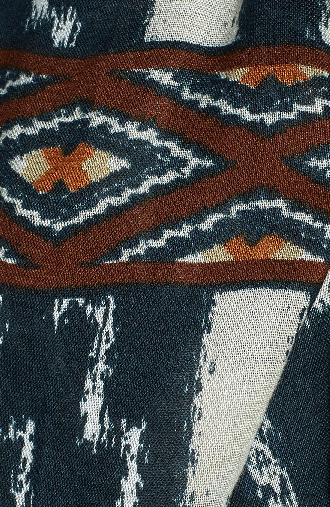 Alternate Image 2  - Lucky Brand Border Print Scarf