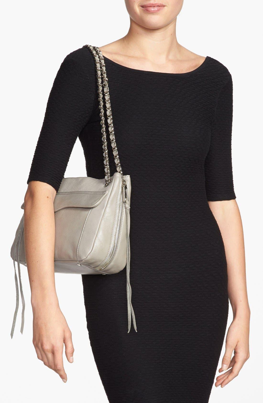 Alternate Image 2  - Rebecca Minkoff 'Swing' Double Chain Leather Shoulder Bag