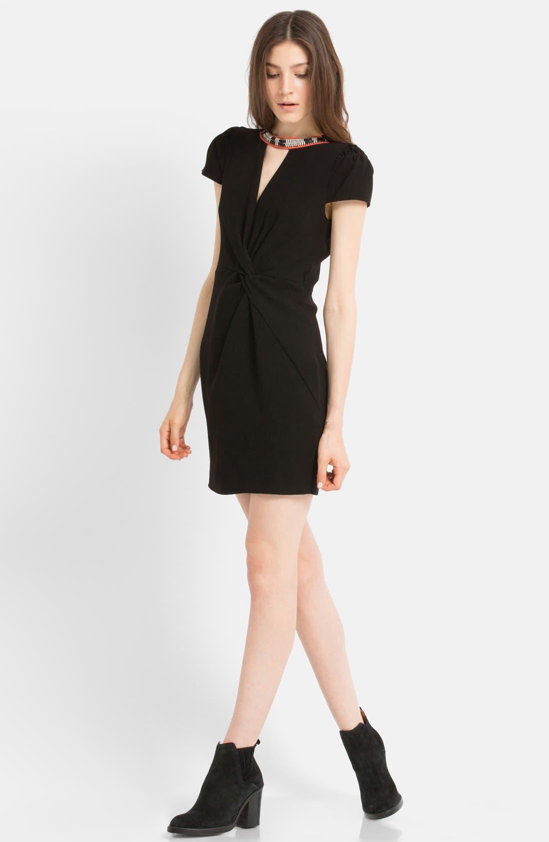Main Image - maje Embellished Sheath Dress