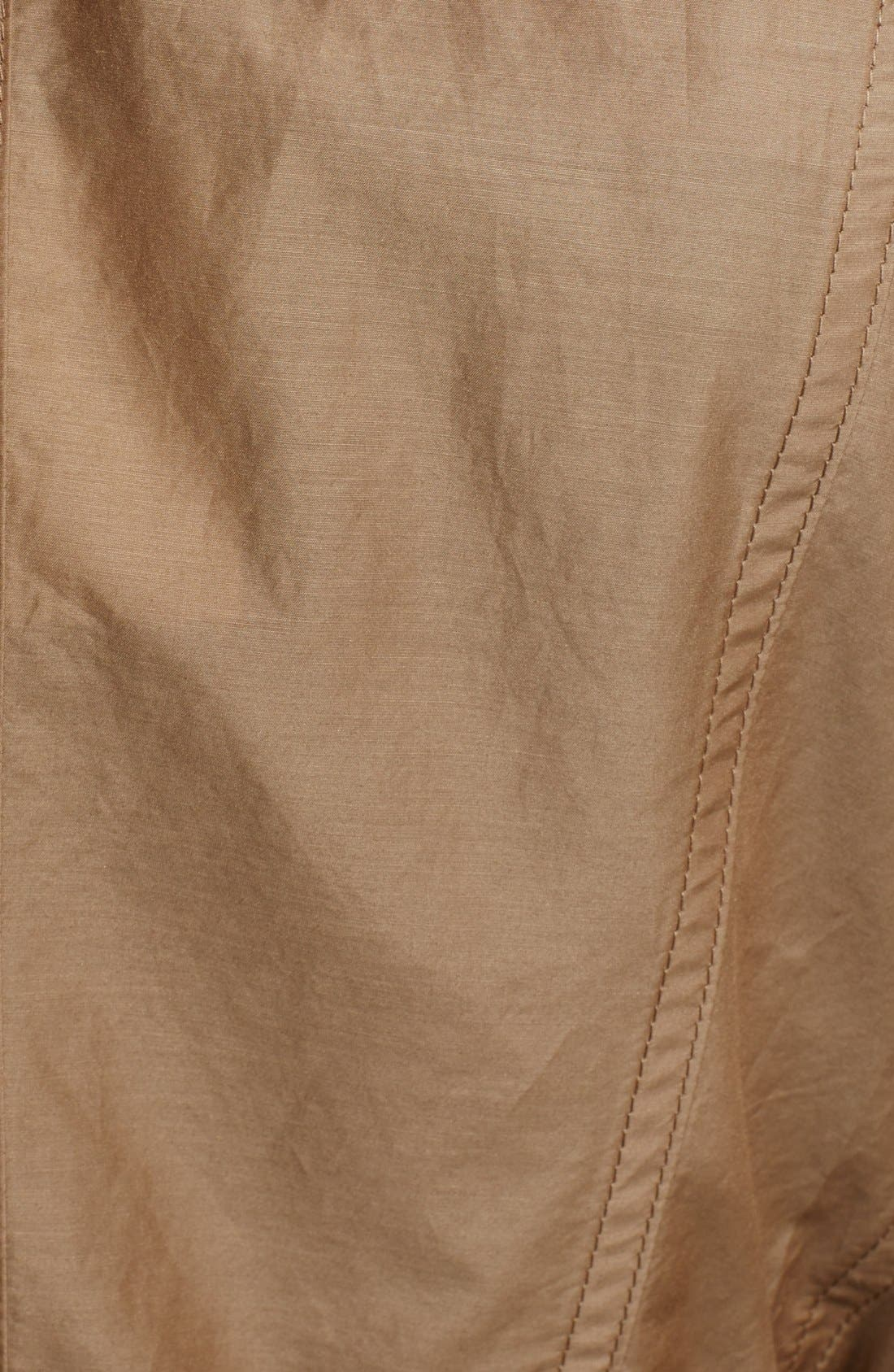 Alternate Image 3  - Burberry Brit 'Harpsfield' Cotton & Silk Double Breasted Jacket