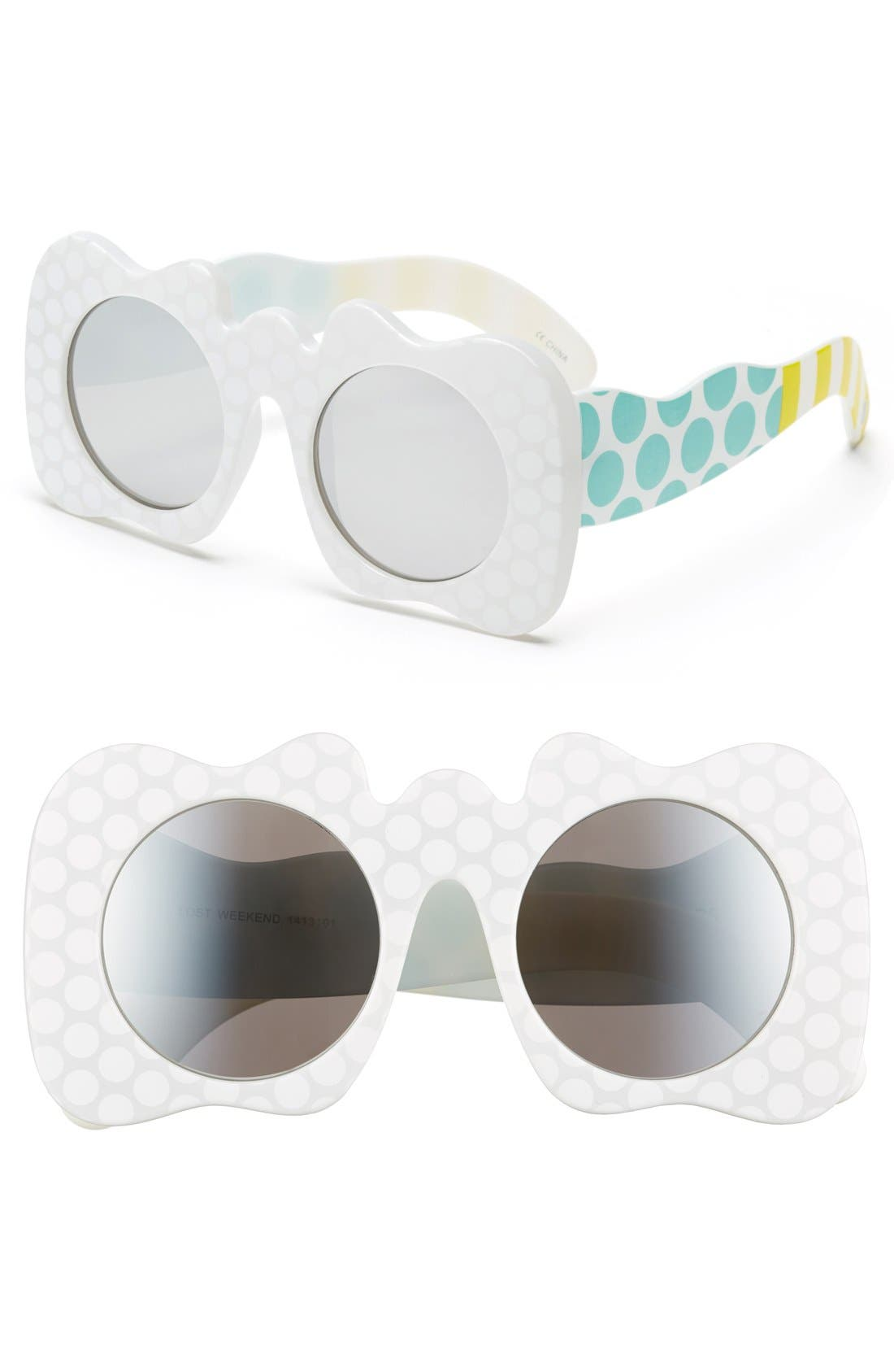 Alternate Image 1 Selected - Craig and Karl x Le Specs 'Lost Weekend' 47mm Sunglasses
