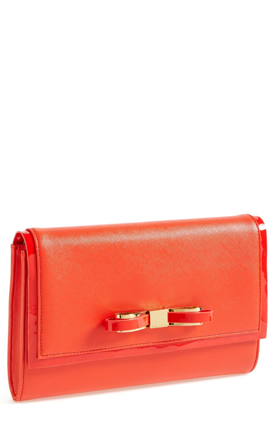 Main Image - Ted Baker London 'Bow' Clutch