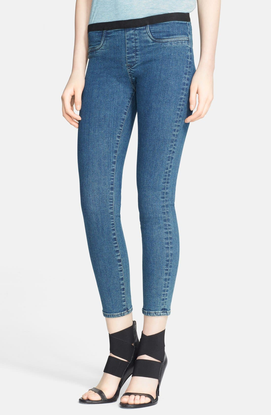 Alternate Image 1 Selected - Helmut Lang Denim Leggings
