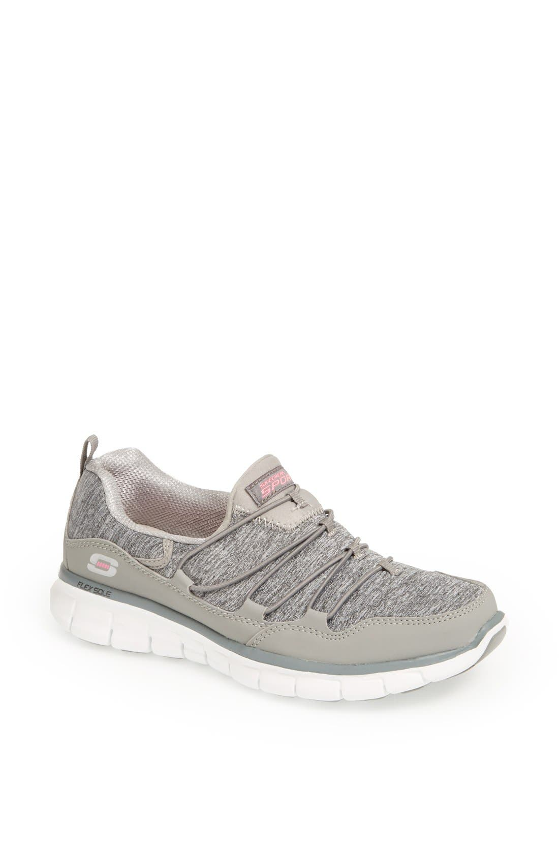 Alternate Image 1 Selected - SKECHERS 'Flex Appeal - Asset Play' Walking Shoe (Women)