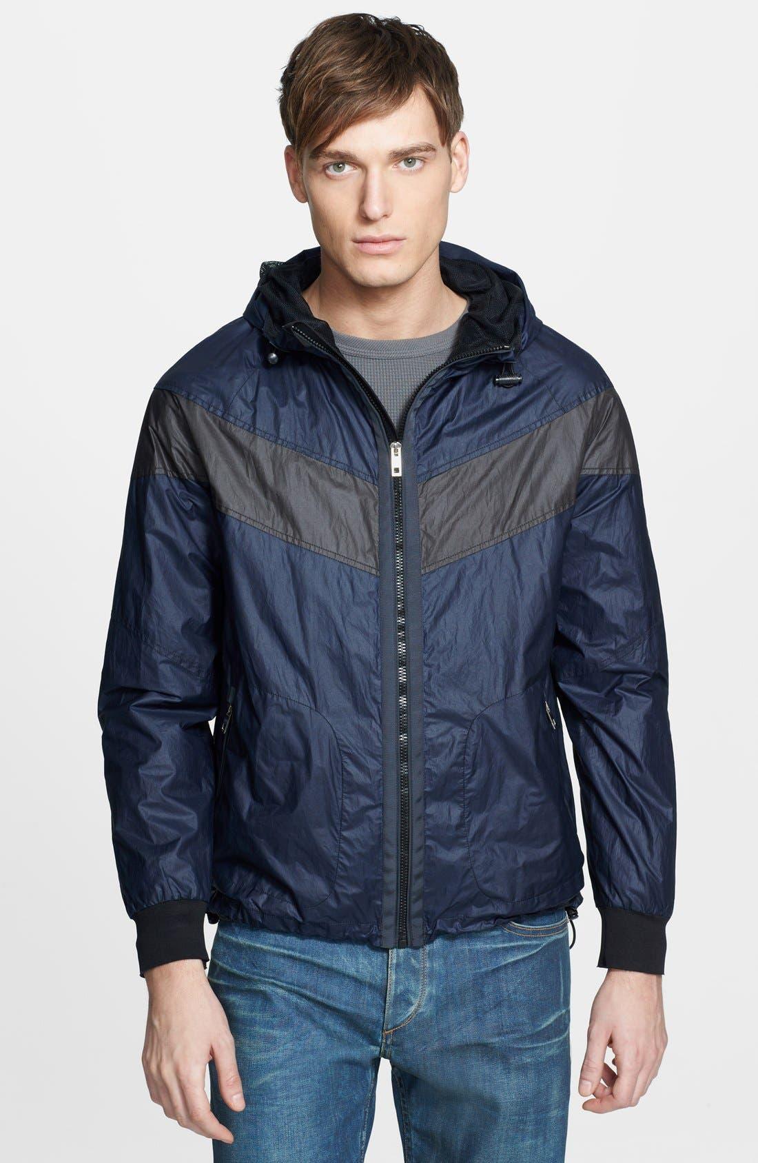 Main Image - rag & bone 'Terrace' Lightweight Hooded Jacket