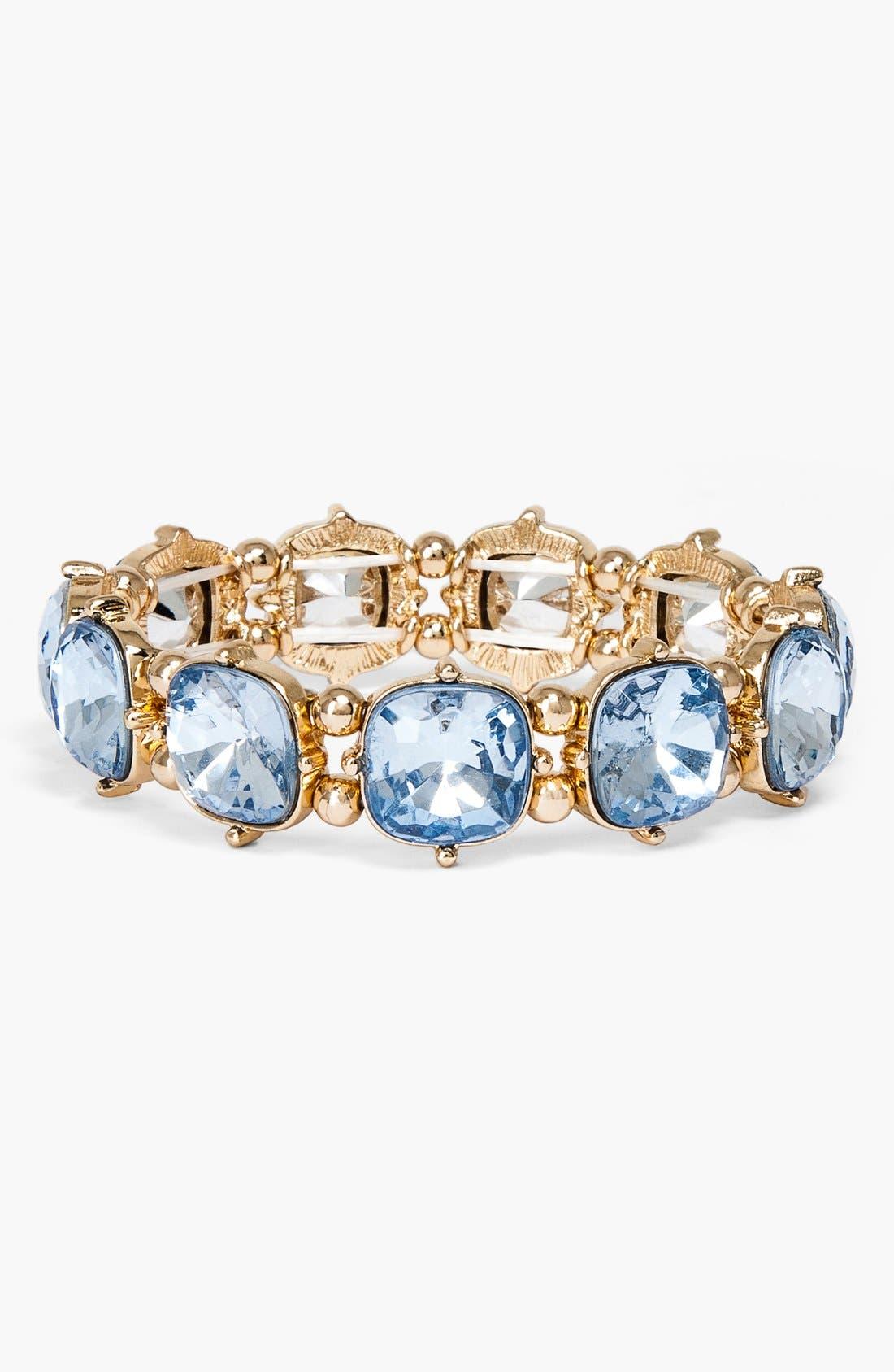 Main Image - BaubleBar Stone Stretch Bracelet