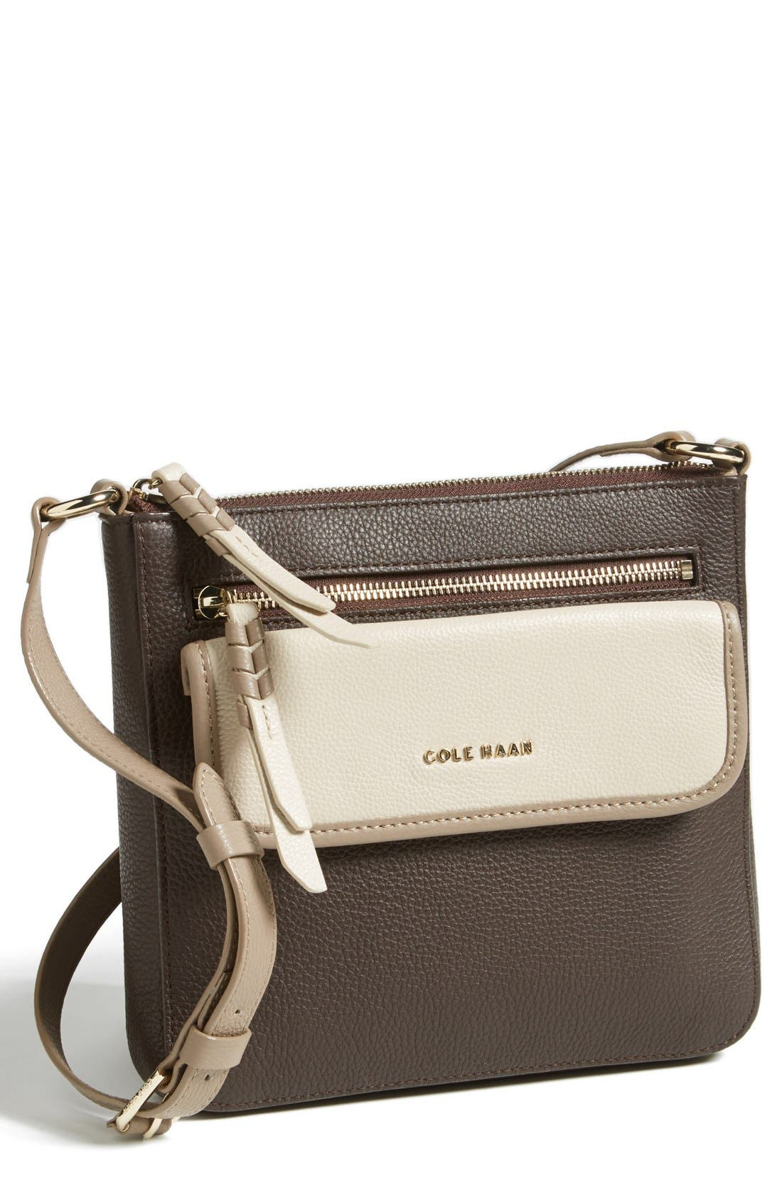 Alternate Image 1 Selected - Cole Haan Leather Crossbody Bag