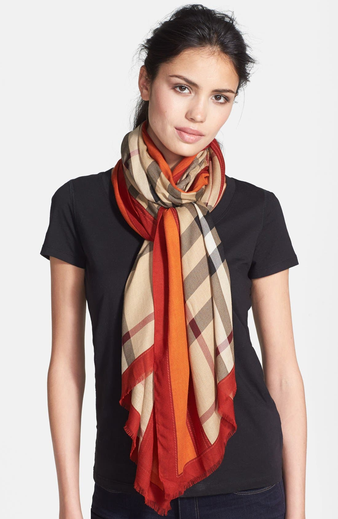 Main Image - Burberry Oblong Scarf