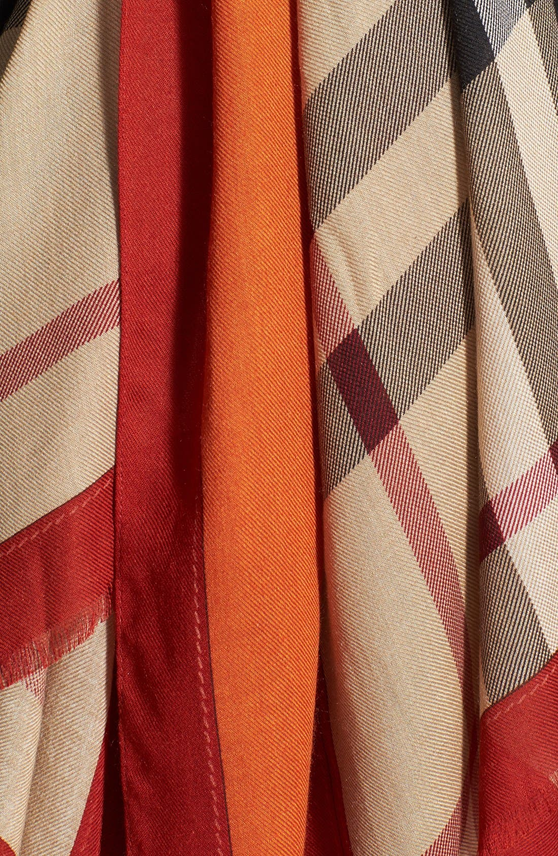 Alternate Image 2  - Burberry Oblong Scarf