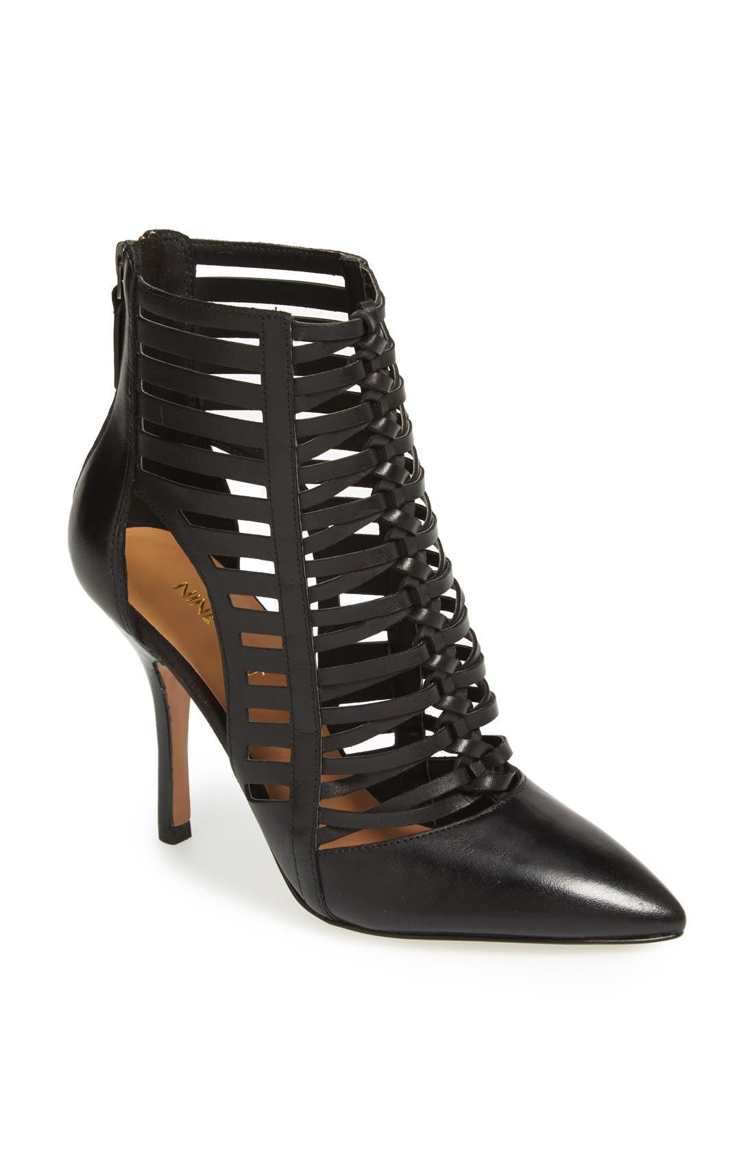 Main Image - Nine West 'Bessy' Leather Bootie