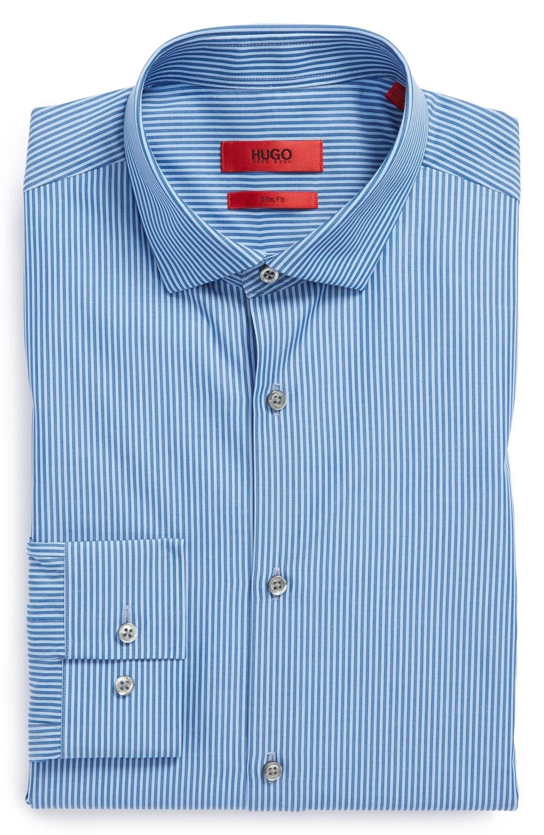 Main Image - HUGO BOSS EXTRIM DRESS SHIRT