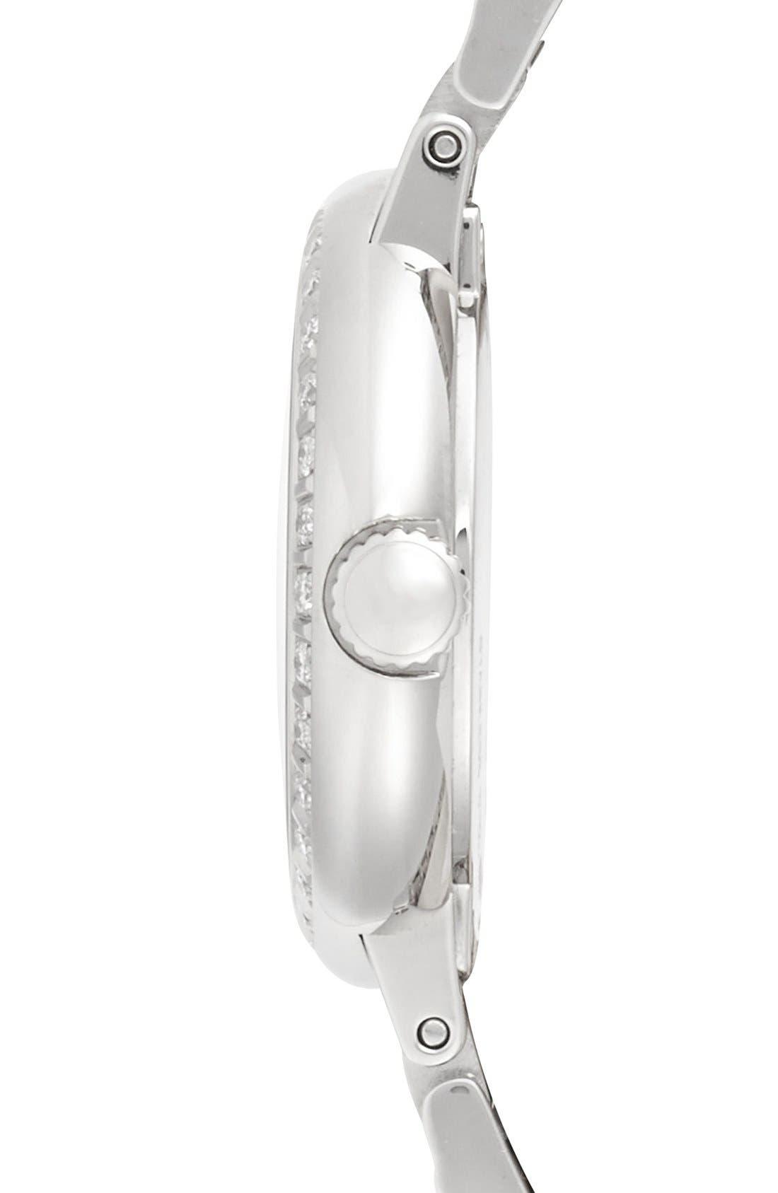 Alternate Image 3  - Movado 'Concerto' Diamond Bezel Bracelet Watch, 27mm