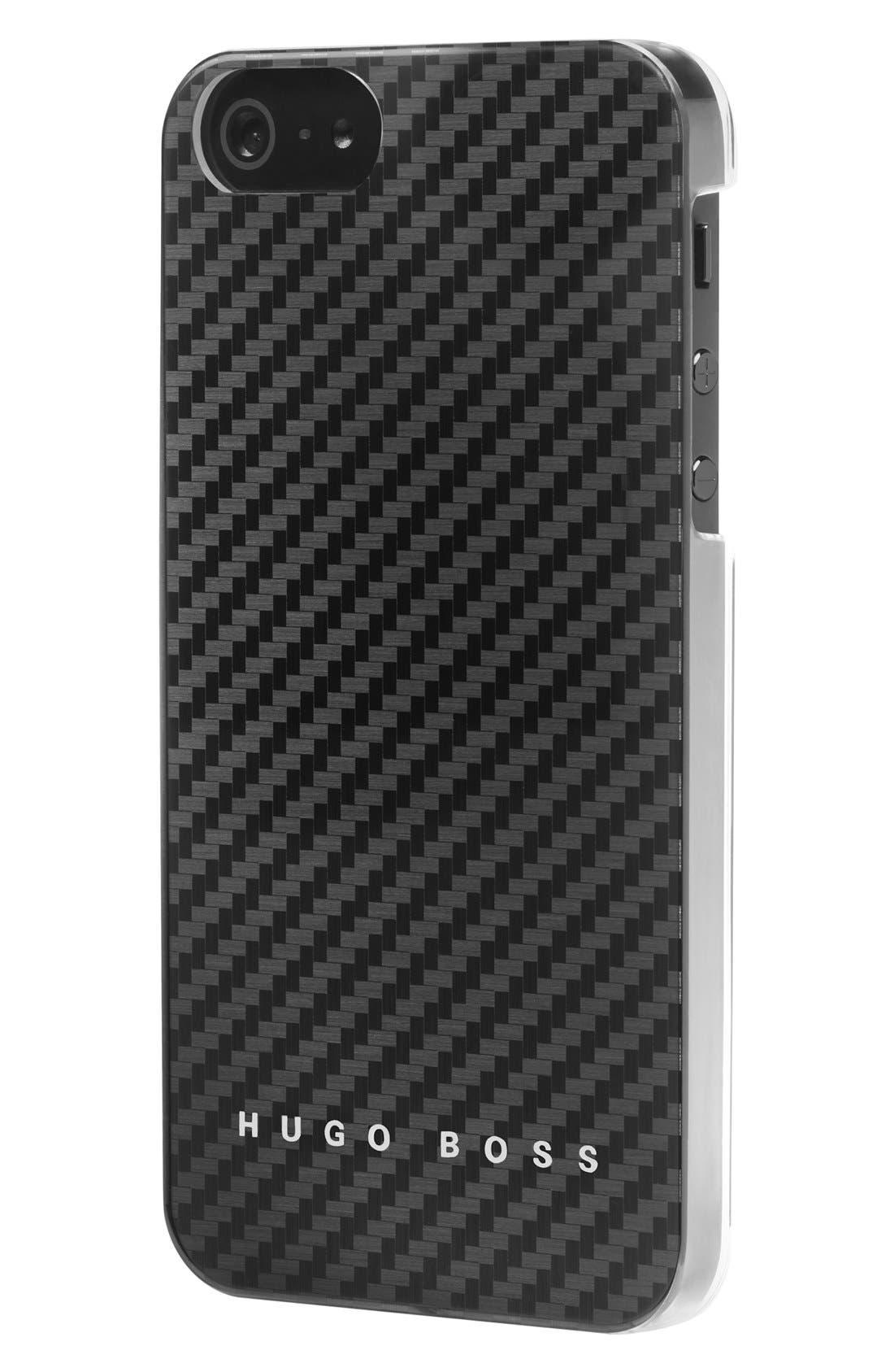 Alternate Image 1 Selected - BOSS HUGO BOSS 'Carbon V' iPhone 5 Case
