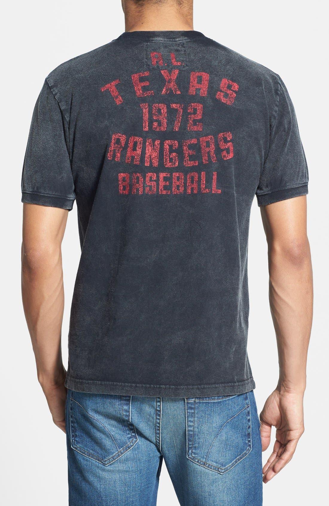 Alternate Image 2  - Red Jacket 'Texas Rangers' Trim Fit T-Shirt