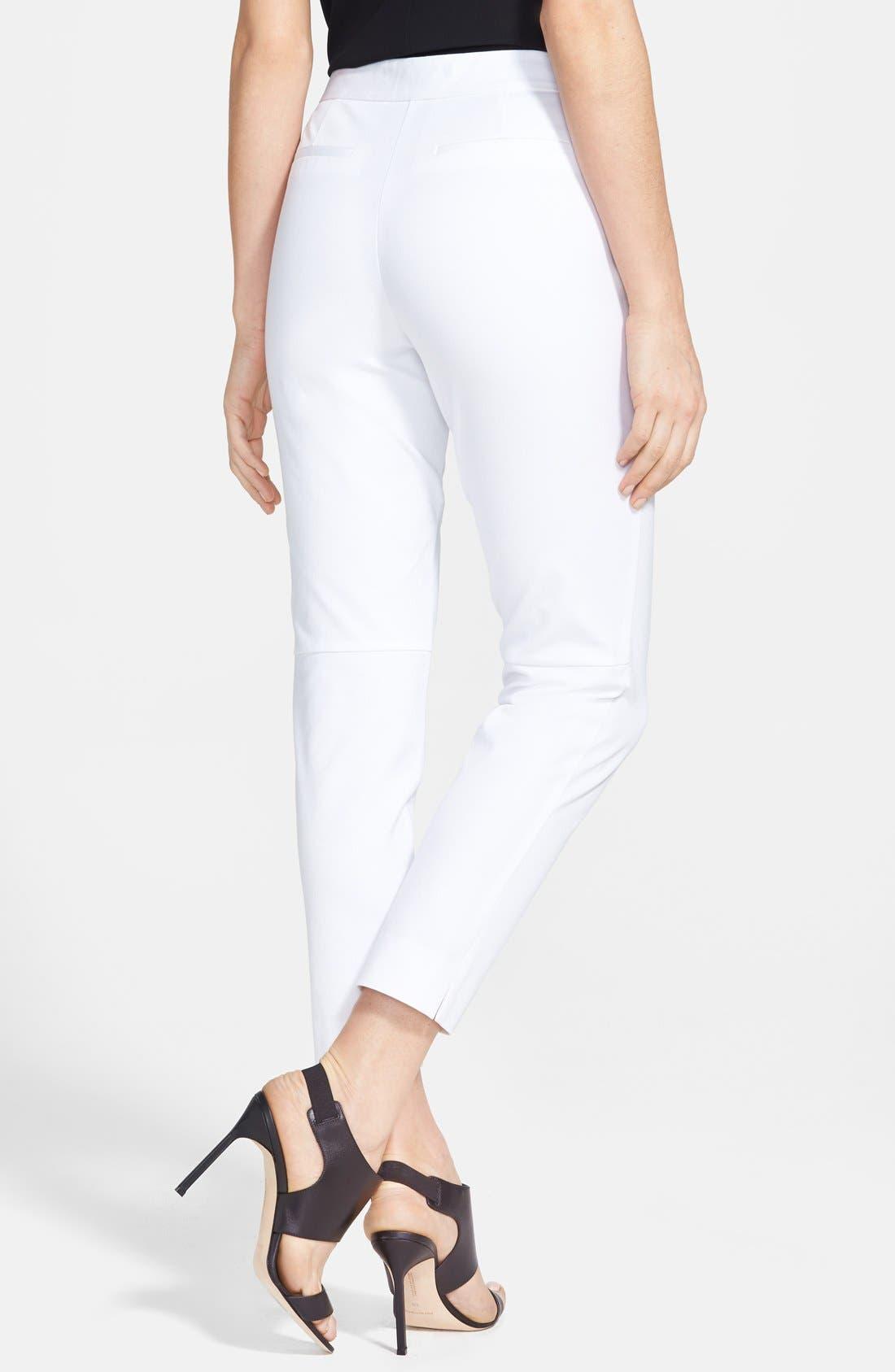 Alternate Image 2  - Chelsea28 Side Slit Ankle Pants