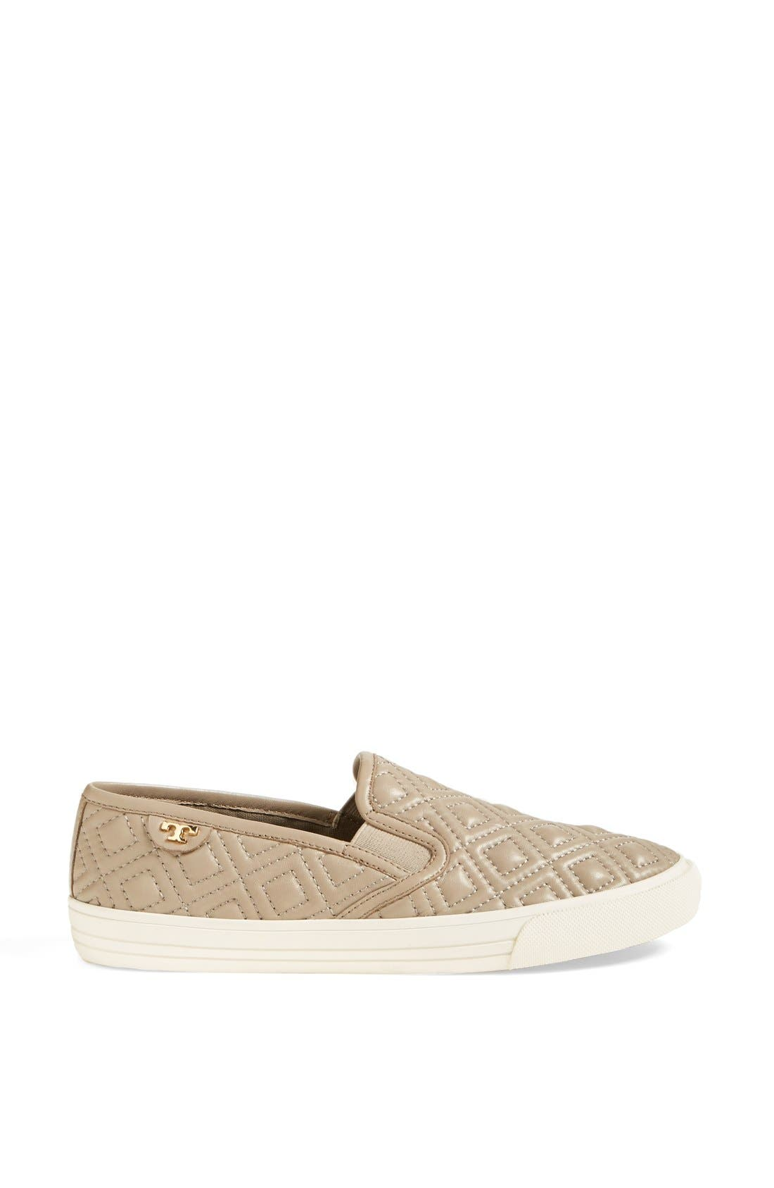 Alternate Image 4  - Tory Burch 'Jesse' Quilted Leather Sneaker