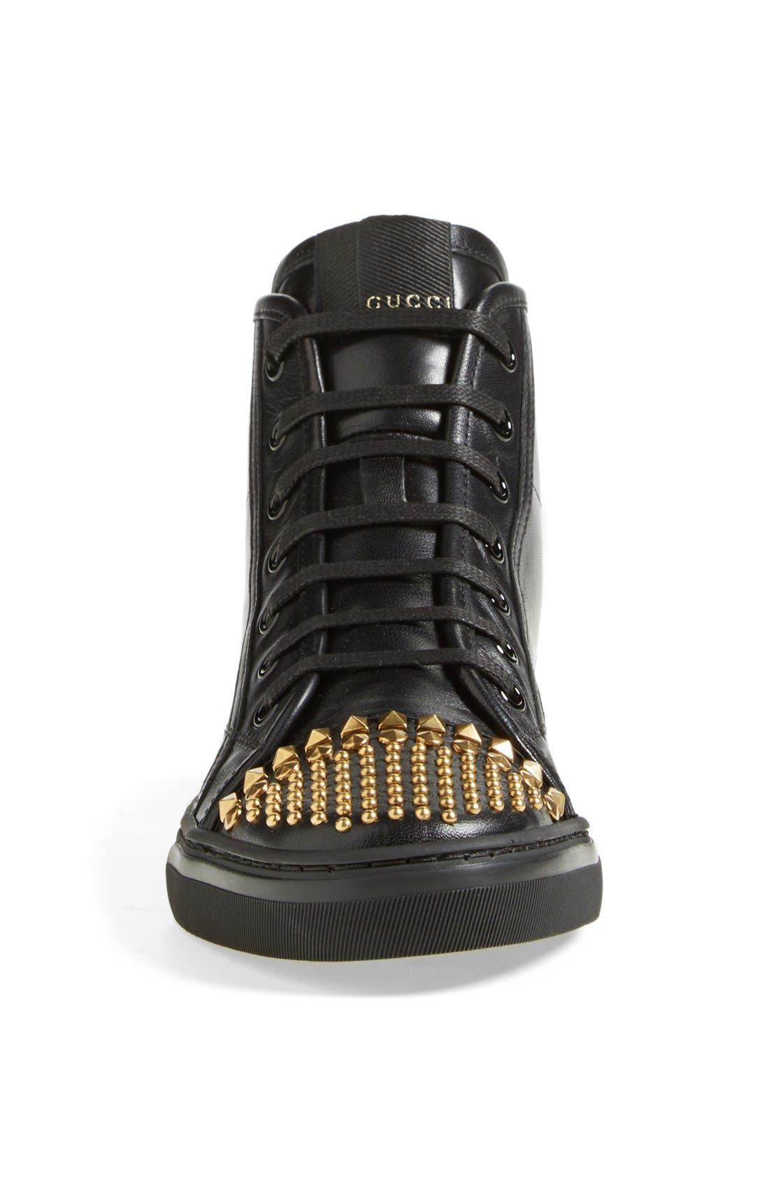 Alternate Image 3  - Gucci 'California' Studded Sneaker (Women)