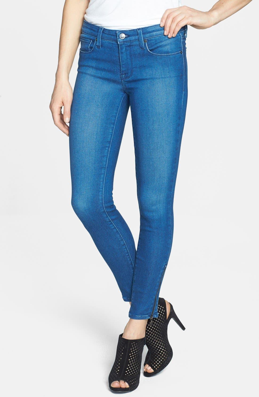 Alternate Image 1 Selected - Genetic 'James' Skinny Ankle Jeans (Impact)