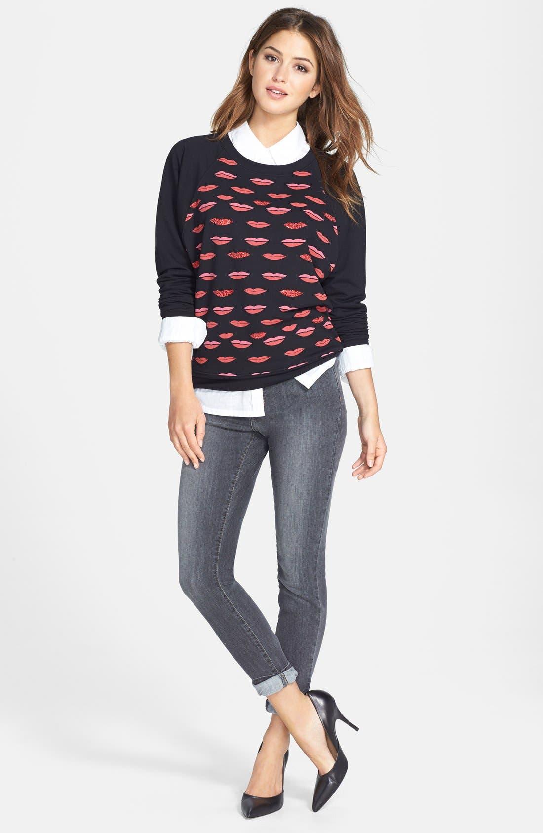 Alternate Image 4  - NYDJ 'Ami' Stretch Skinny Jeans (Dakota) (Regular & Petite)