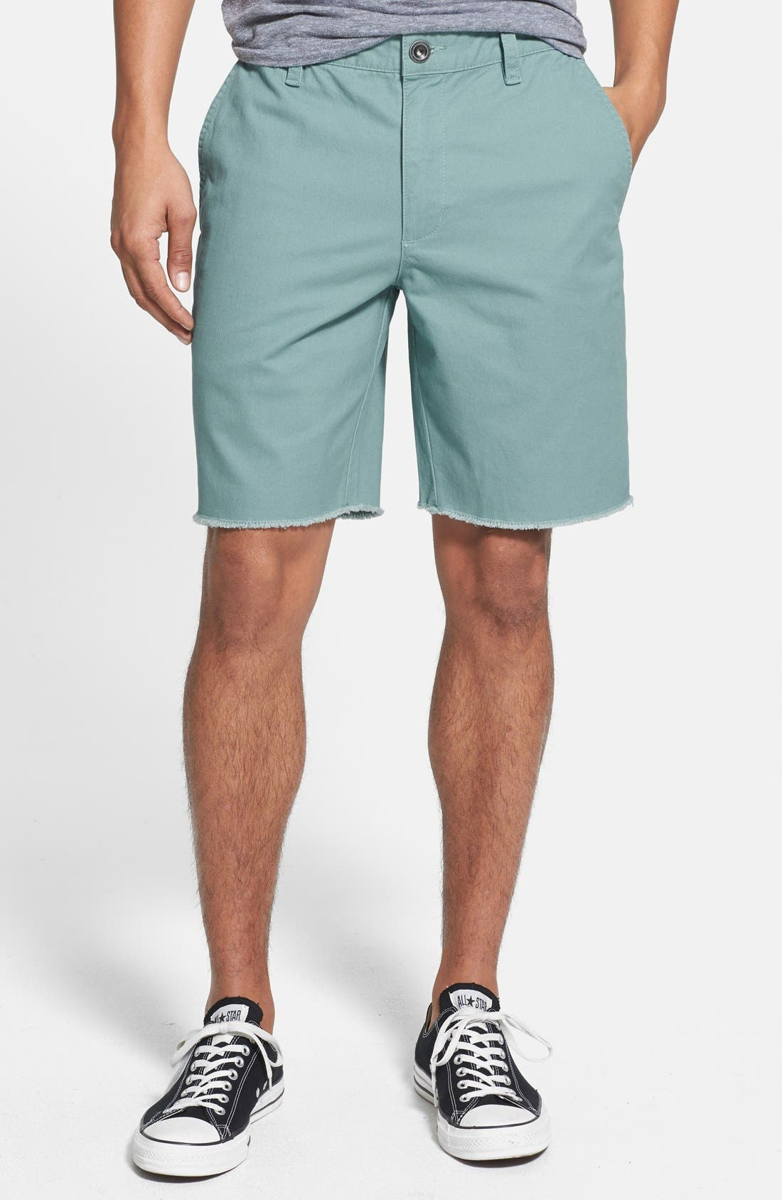 Alternate Image 1 Selected - RVCA 'All Time' Cutoff Shorts