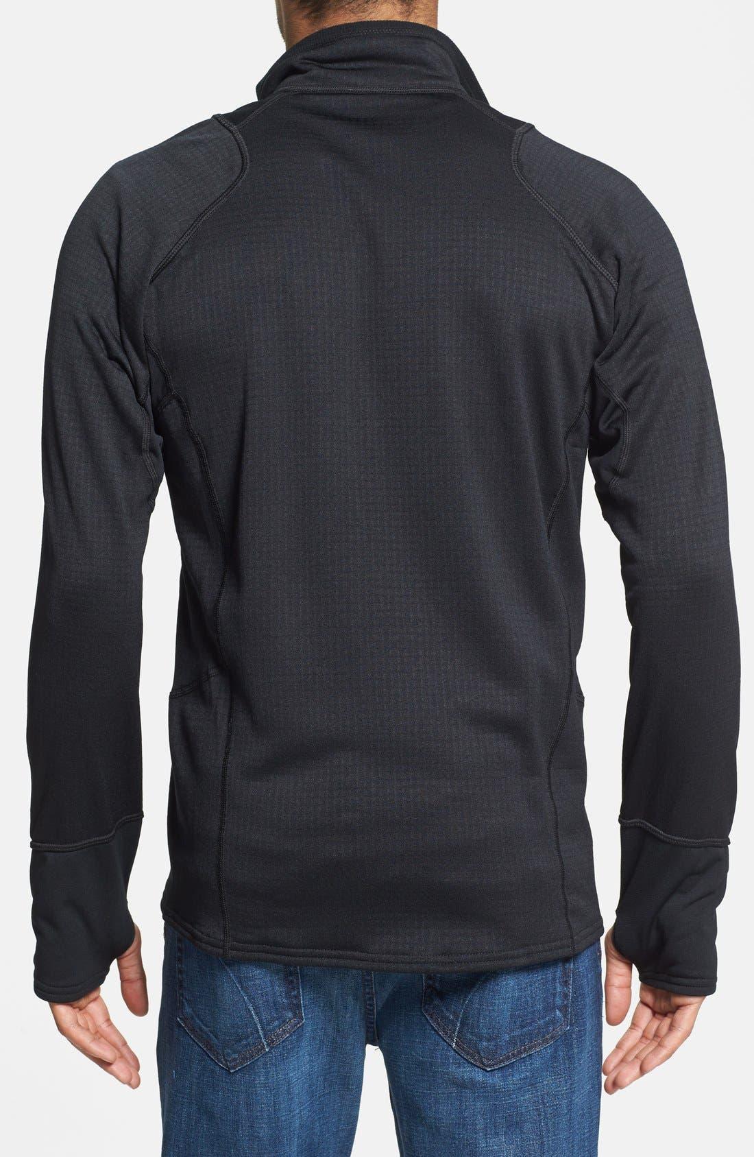 Alternate Image 2  - Patagonia 'R1®' Slim Fit Full Zip Fleece Jacket