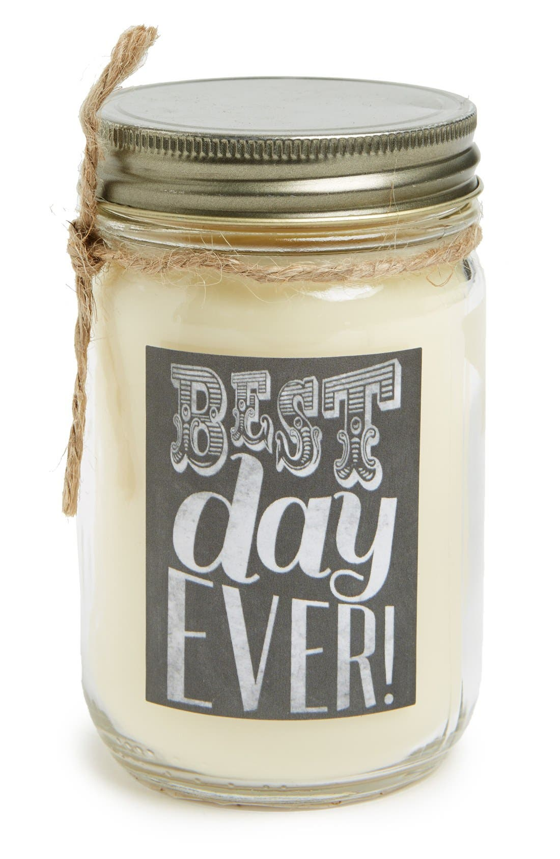 Alternate Image 1 Selected - Primitives by Kathy 'Best Day Ever -Journey at Sea' Mason Jar Candle