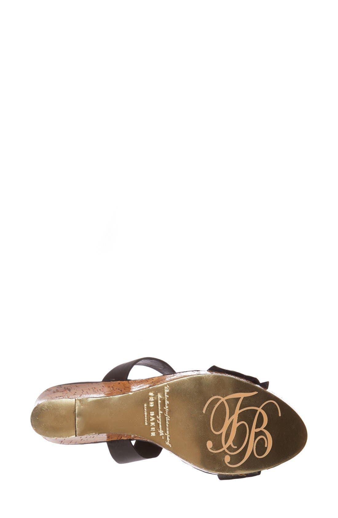 Alternate Image 4  - Ted Baker London 'Oliviaa' Wedge Sandal