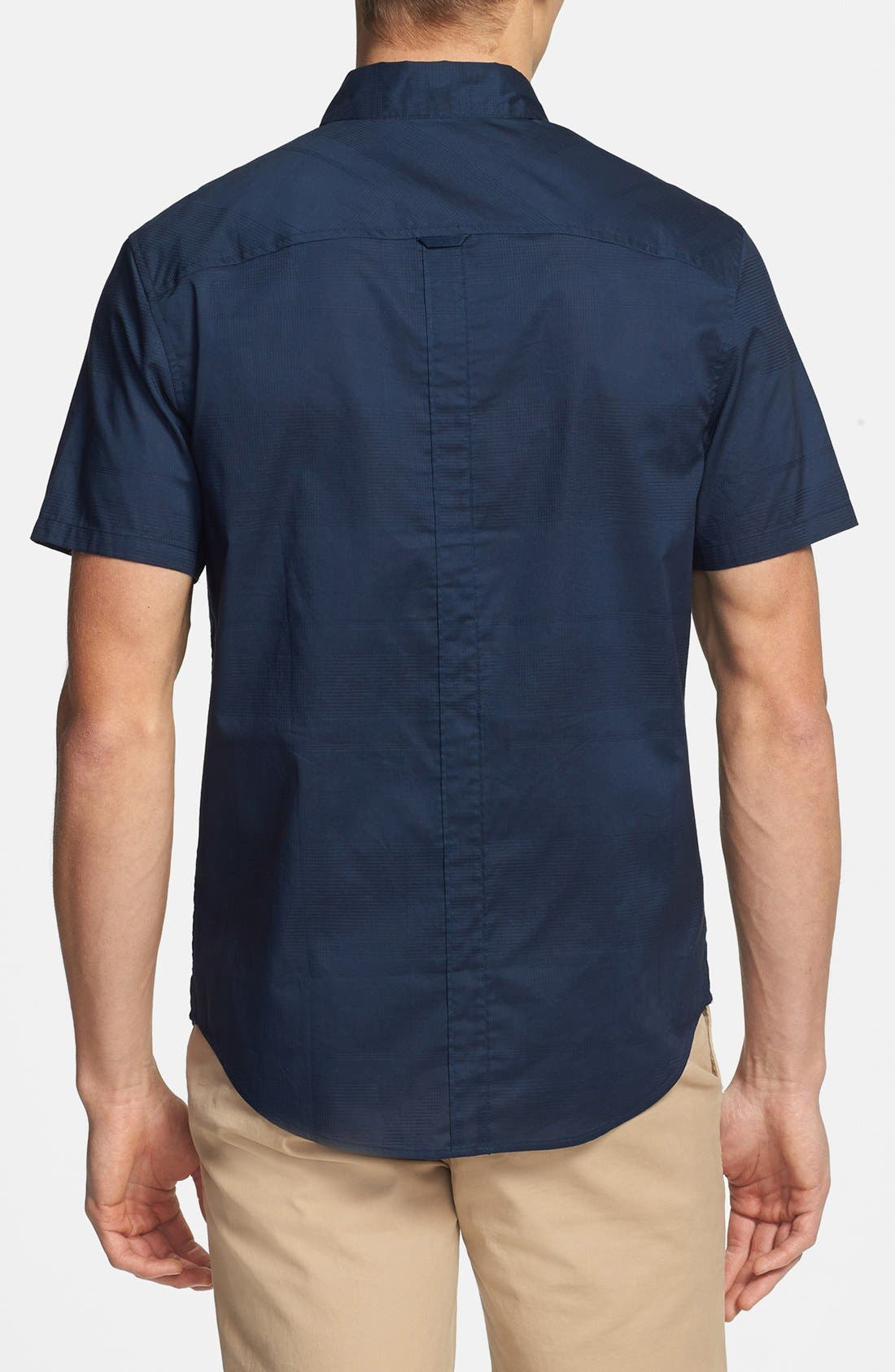Alternate Image 2  - Original Penguin Short Sleeve Cotton Sport Shirt
