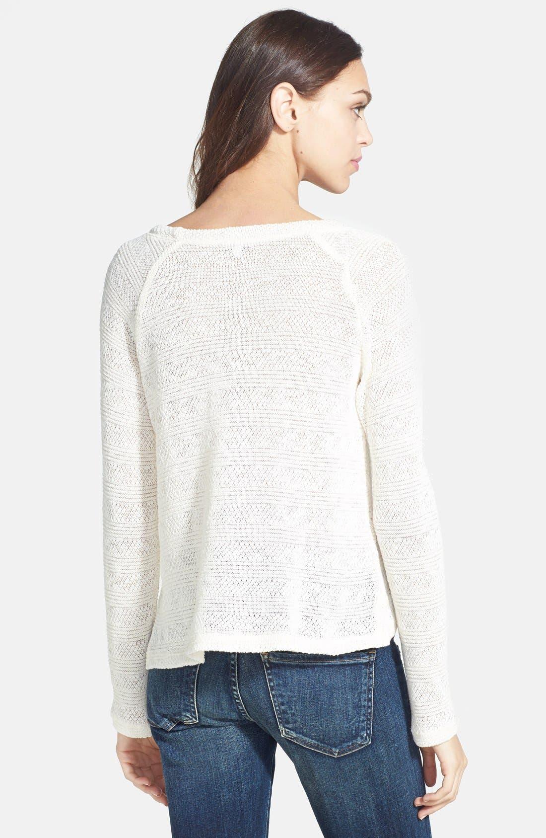 Alternate Image 2  - Splendid 'Sierra' Stripe Knit Pullover