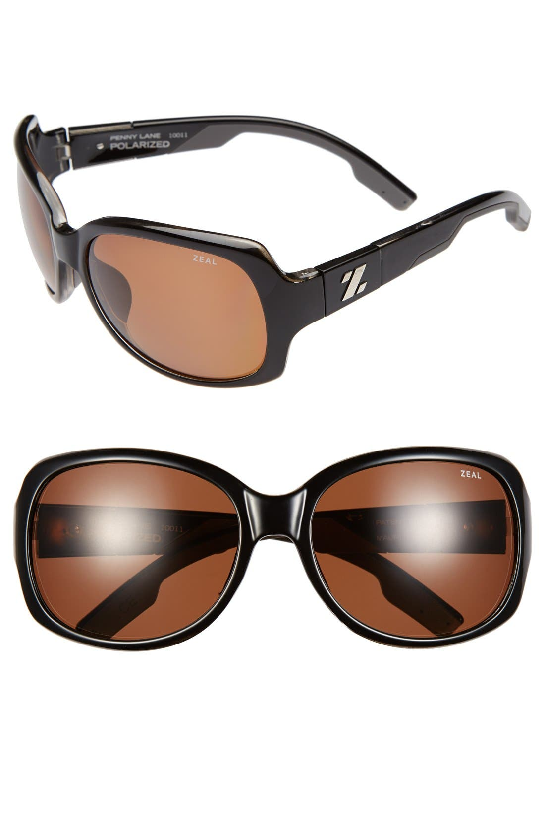 Alternate Image 1 Selected - Zeal Optics 61mm Polarized Plant Based Sunglasses