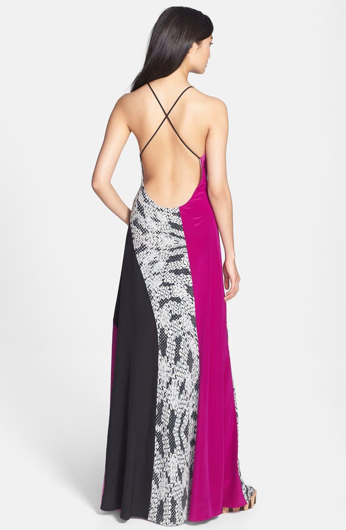 Alternate Image 2  - Diane von Furstenberg 'Naomi' Silk Maxi Dress
