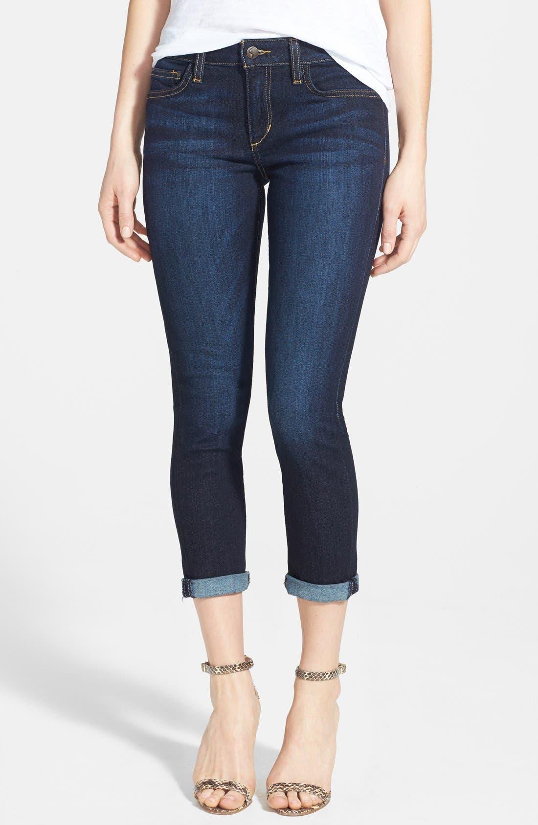 Alternate Image 1 Selected - Joe's Crop Skinny Jeans (Rikki)