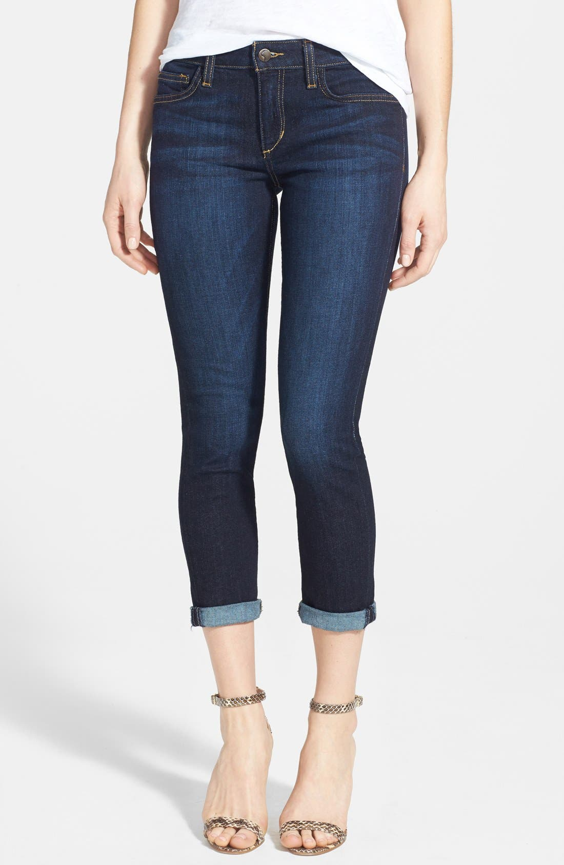Main Image - Joe's Crop Skinny Jeans (Rikki)