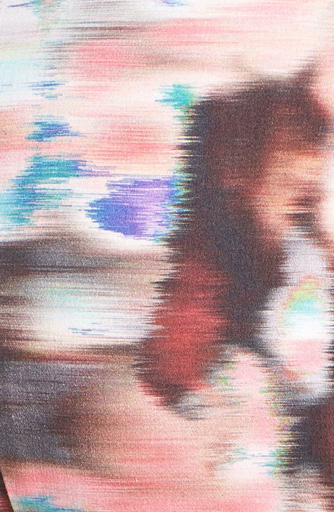 Alternate Image 4  - Black Halo 'Demetrio' Print Stretch Cotton Sateen Sheath Dress
